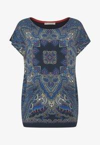 Betty & Co - T-shirt z nadrukiem - classic blue/nature - 3