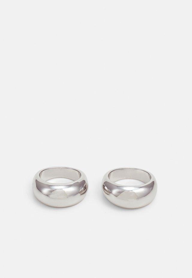SIGNET 2 PACK - Pierścionek - silver-coloured