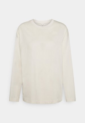 JERSEY LONG SLEEVE - Camiseta de manga larga - offwhite