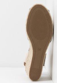 mtng - NEW PALMER - Sandály na vysokém podpatku - natural - 6