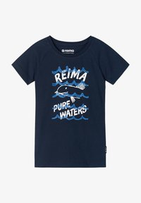 Reima - SILEIN - Print T-shirt - navy - 0