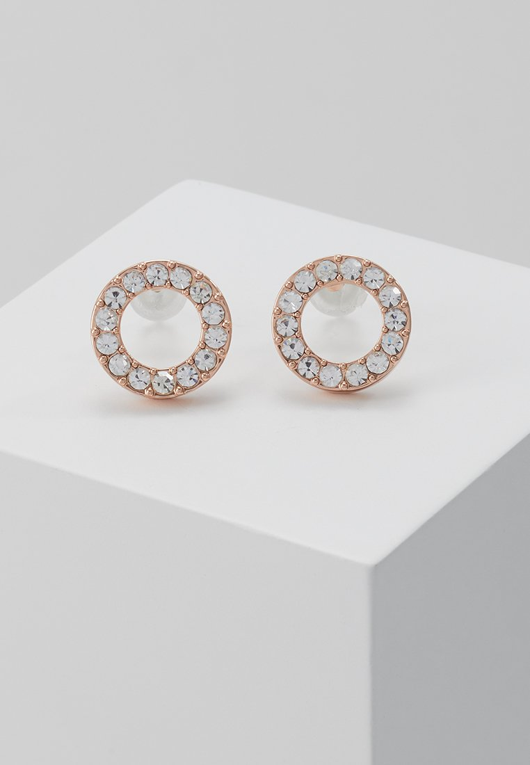 SNÖ of Sweden - Earrings - rosé/clear