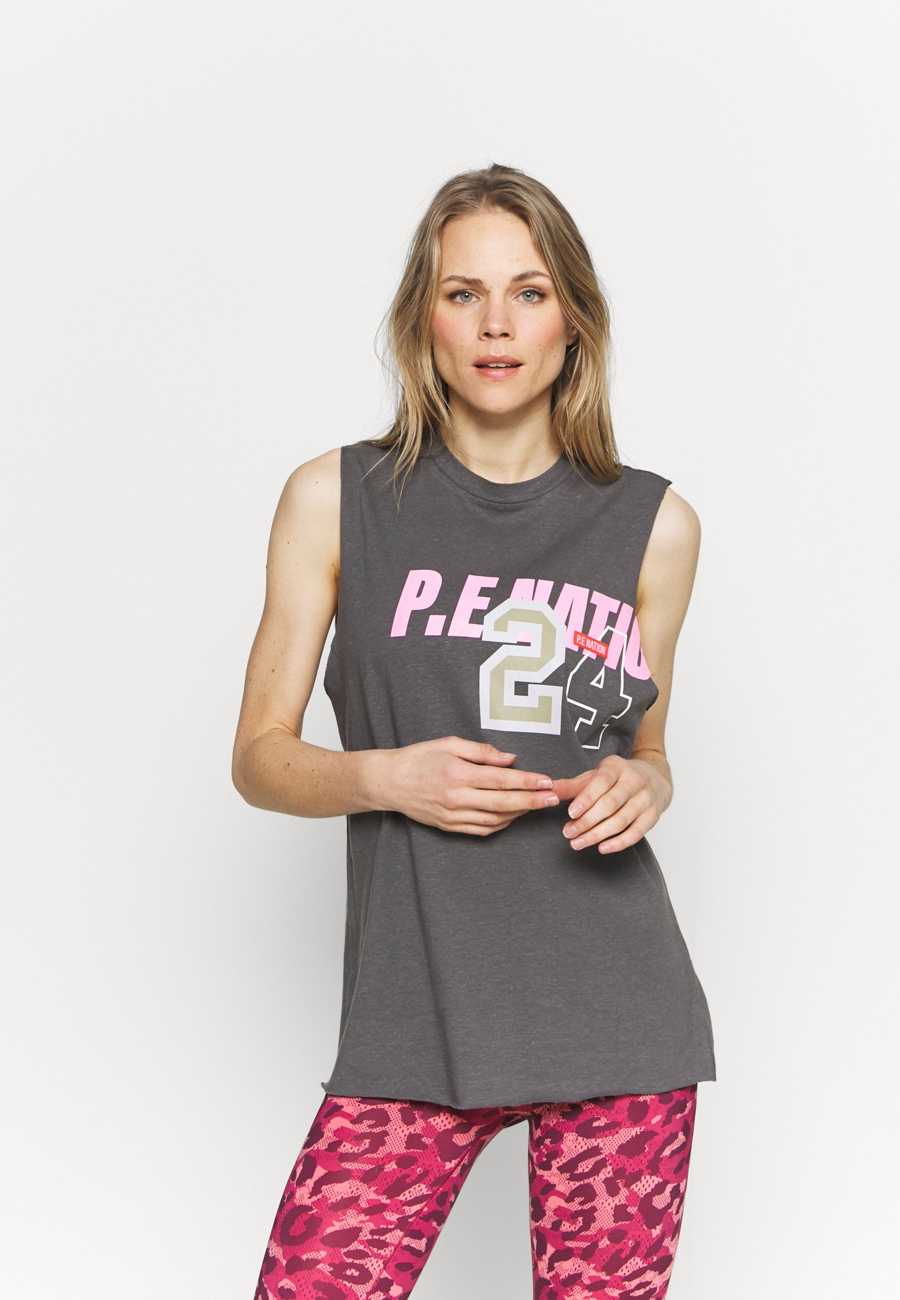 Women GOAL LINE TANK - Print T-shirt