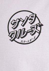 Santa Cruz - JAPANESE DOT EXCLUSIVE UNISEX - T-shirt imprimé - lavander - 6