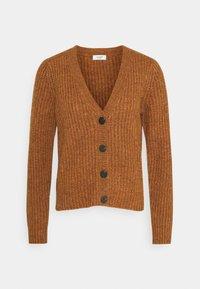 JDY - Cardigan - leather brown melange - 0