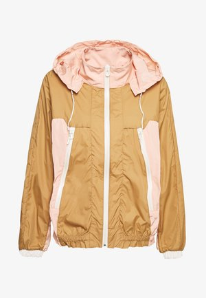 CLUB NOMADE WIND JACKET - Summer jacket - tan/pink