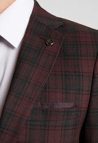 Burton Menswear London - TARTAN - Colbert - red - 7