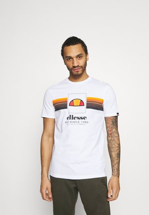 COLO - Camiseta estampada - white