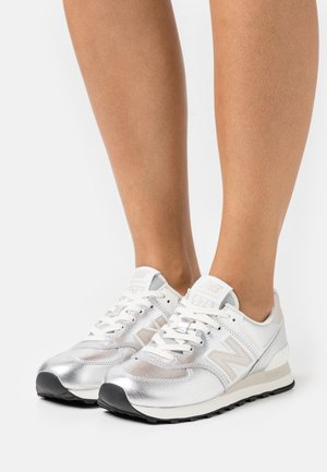 WL574 - Sneakers basse - light silver metallic