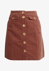 Louche - NEOLA - A-line skirt - dark peach - 3