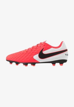TIEMPO LEGEND 8 CLUB FG/MG - Moulded stud football boots - laser crimson/black/white