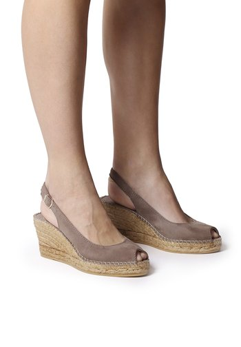 CALPE - Sandals - taupe