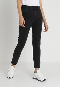 Even&Odd - Jeans Relaxed Fit - black - 0