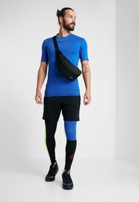 Nike Performance - Tights - black/game royal/electric green/habanero red - 1