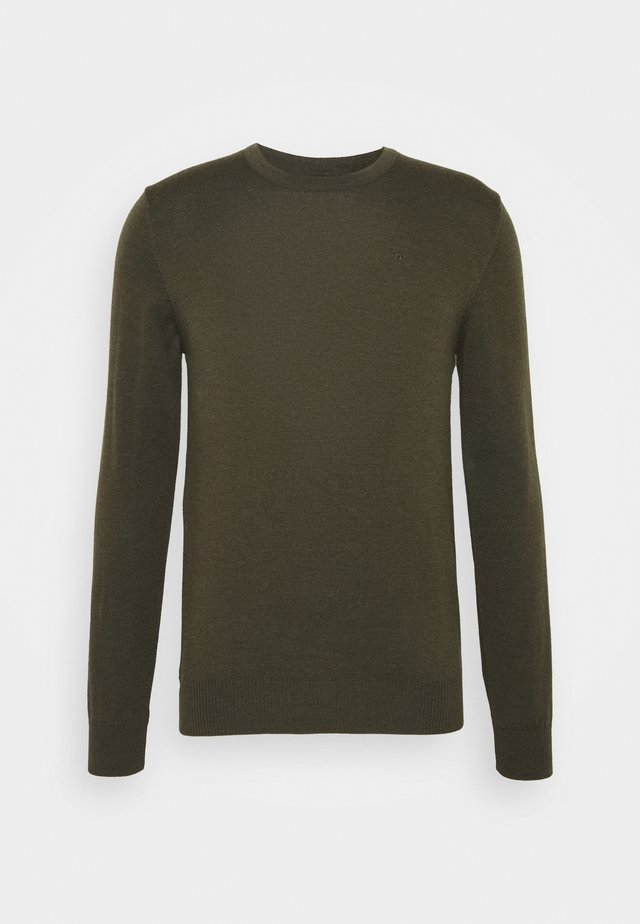 LYLE CREW NECK - Jumper - moss green