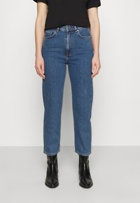 ARKET - Relaxed fit jeans - washed blue - 0