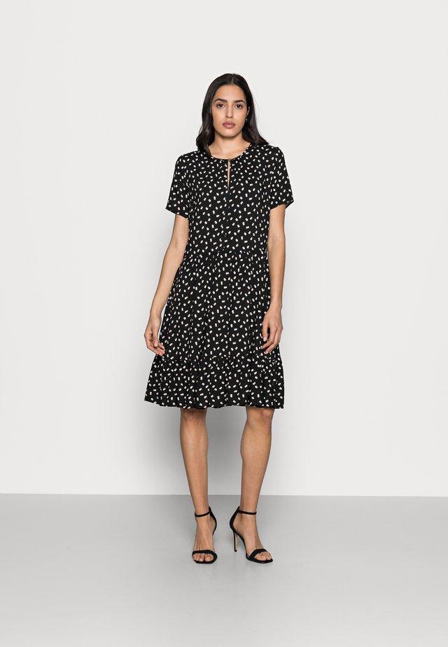 VIKSA DRESS - Vestito estivo - black double dot