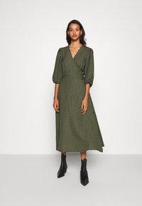 Minimum - ELMINA - Day dress - dark olive - 0