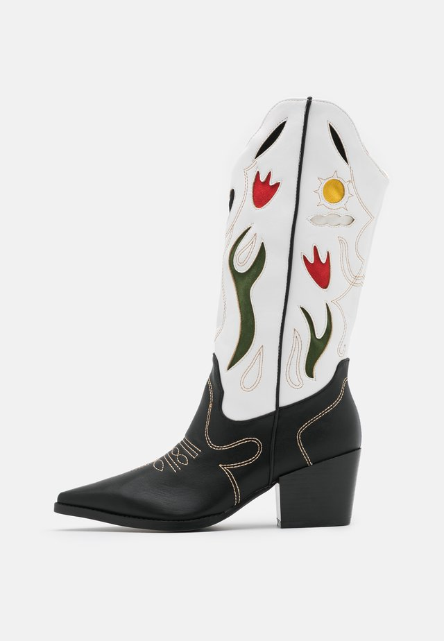 VLADA - Cowboy/biker ankle boot - multicolor