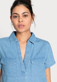 Zign - Denim dress - light blue - 4