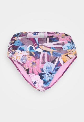 WAIST BRIEF - Bikini bottoms - garnet