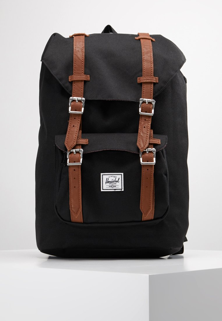 Herschel - LITTLE AMERICA MID VOLUME - Rygsække - black