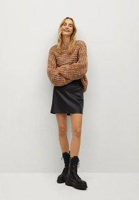 Mango - MONET - Lace-up ankle boots - schwarz - 0