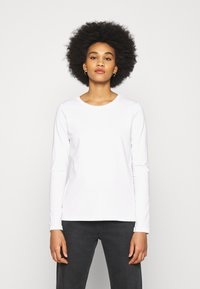 Pieces - PCRIA NEW  - Long sleeved top - bright white - 0