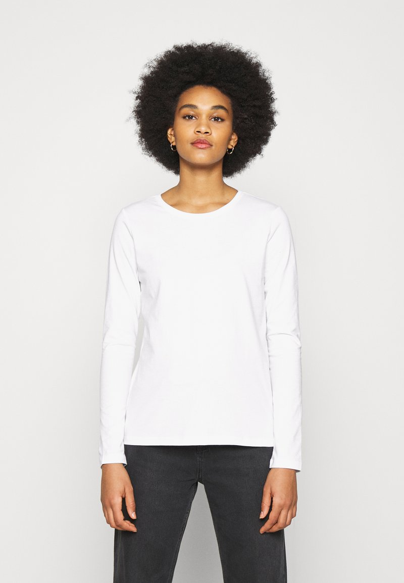 Pieces - PCRIA NEW  - Long sleeved top - bright white