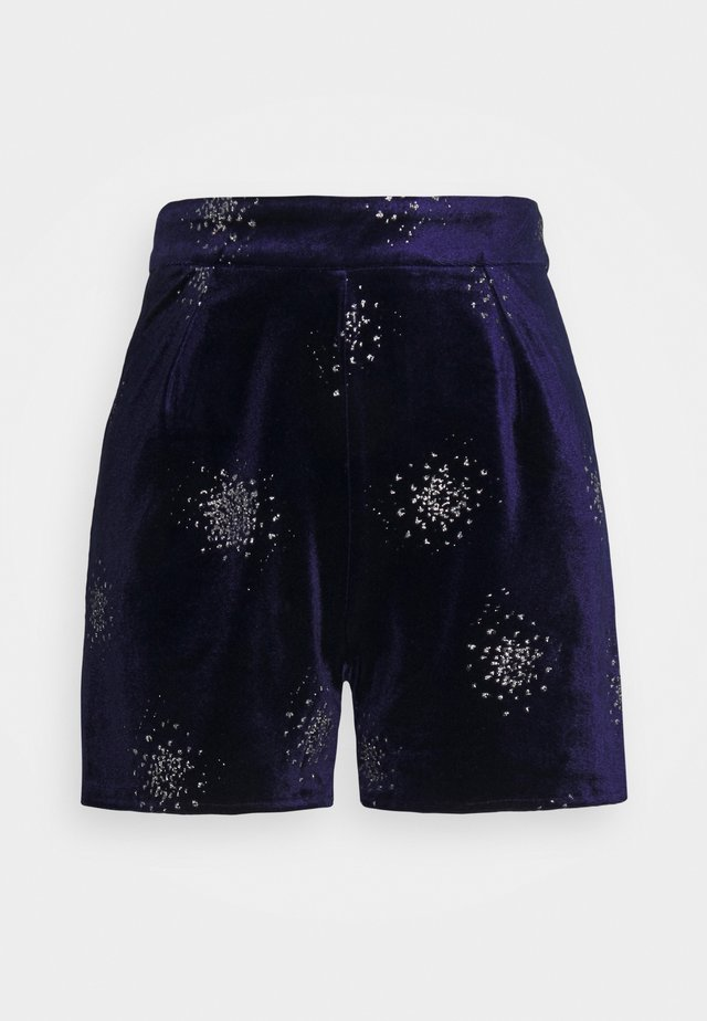 EMBELLISHED - Shorts - navy