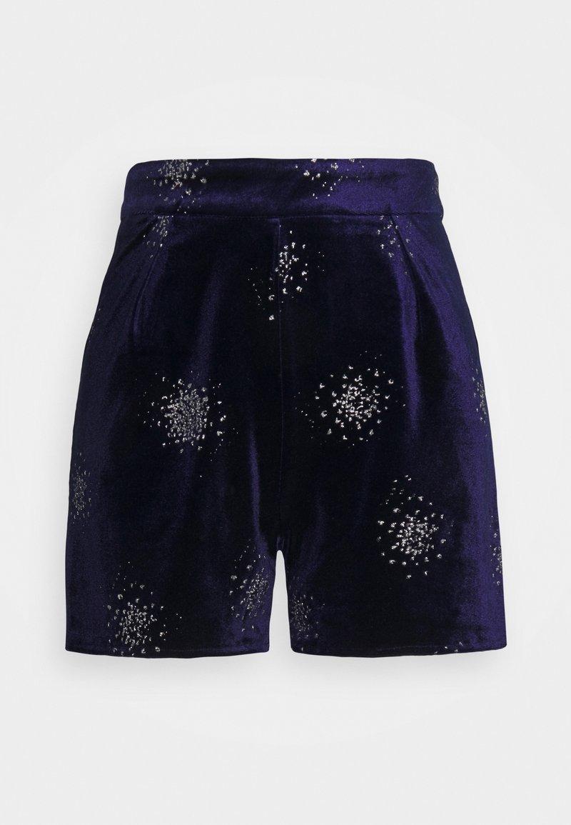 Never Fully Dressed - EMBELLISHED - Shorts - navy