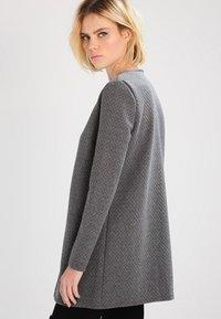 Vila - VINAJA NEW LONG JACKET - Summer jacket - medium grey melange - 2