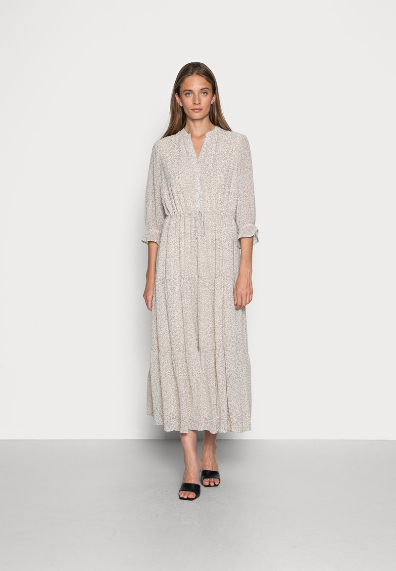 Selected Femme - SLFGAIA DAMINA ANKLE DRESS  - Maxi dress - birch