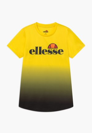 GALTA PERFORMANCE TEE - T-shirts print - yellow