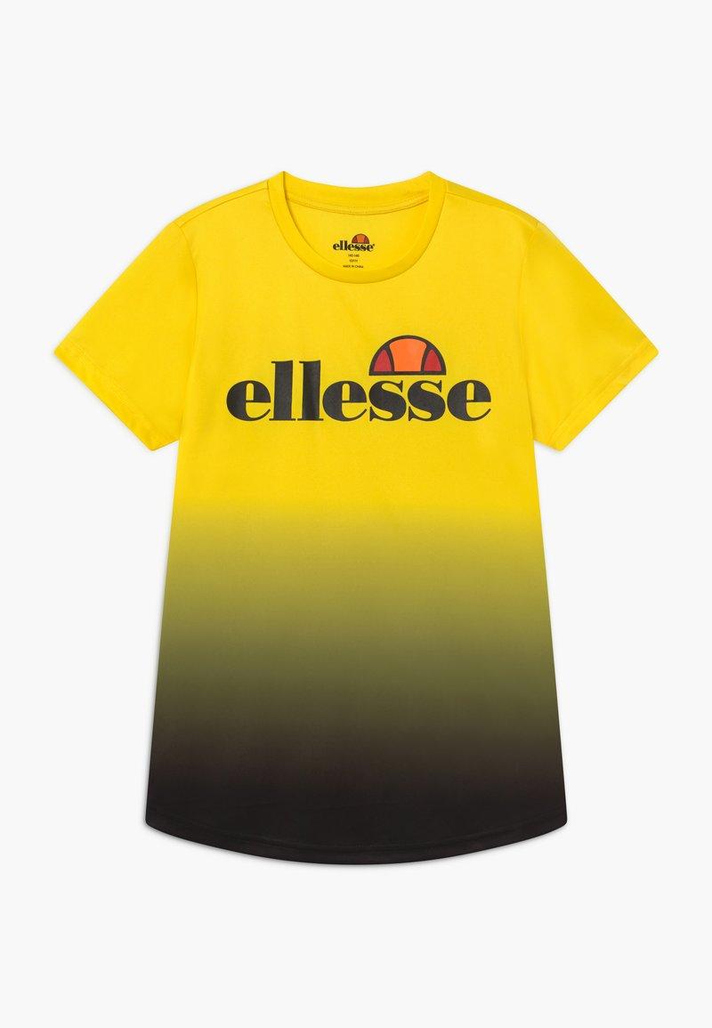 Ellesse - GALTA PERFORMANCE TEE - T-shirt imprimé - yellow