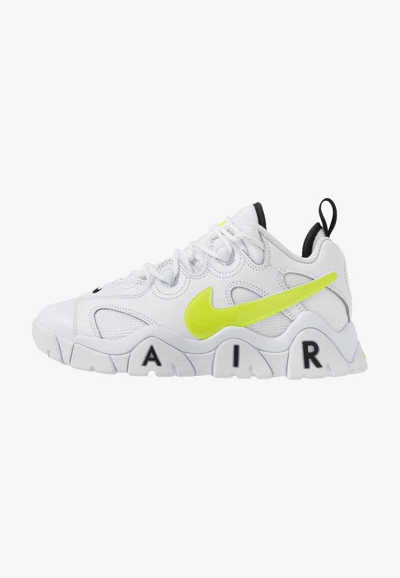 Nike Sportswear - AIR BARRAGE - Trainers - white/volt/black