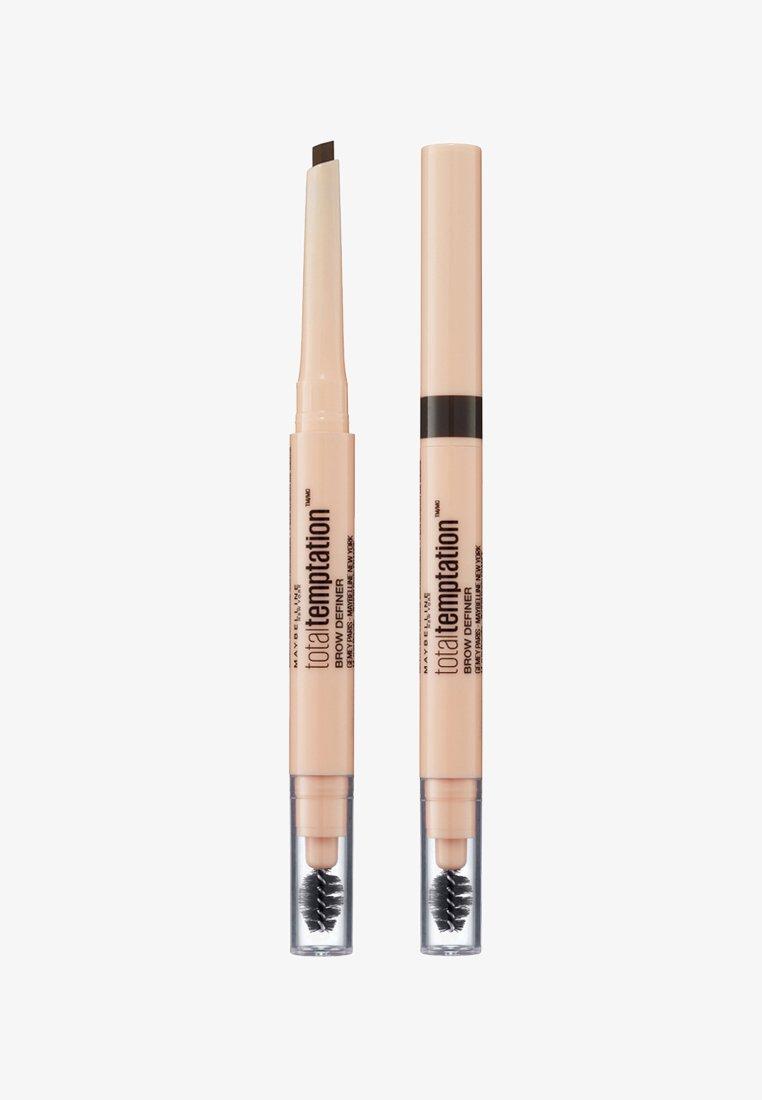 Maybelline New York - TOTAL TEMPTATION BROW DEFINER - Wenkbrauwpotlood - 110 soft brown