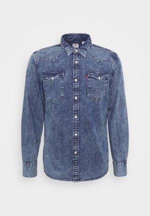 BARSTOW WESTERN STANDARD - Overhemd - marble indigo acid wash