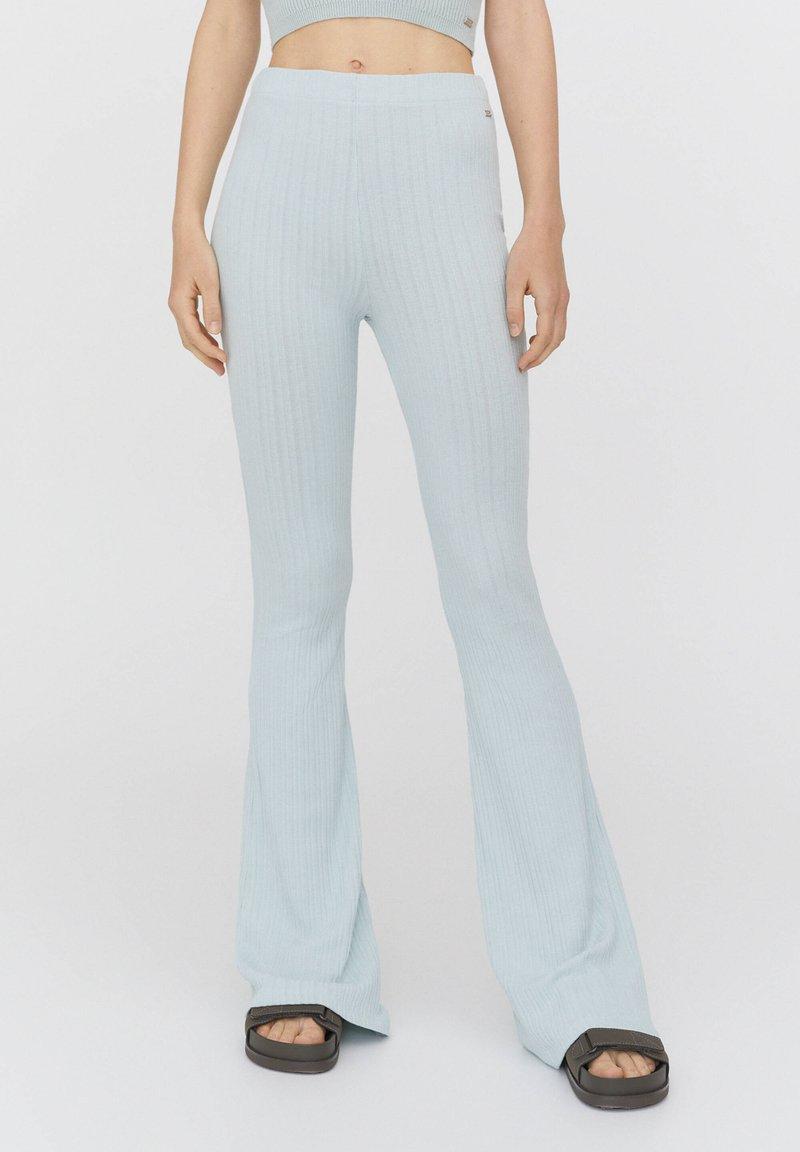PULL&BEAR - Trousers - mottled blue