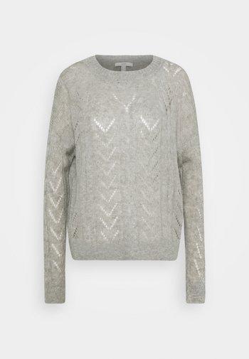 POINTELLE - Jumper - medium grey