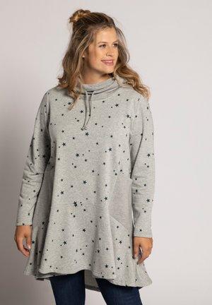Sweatshirt - grijs-mêlee