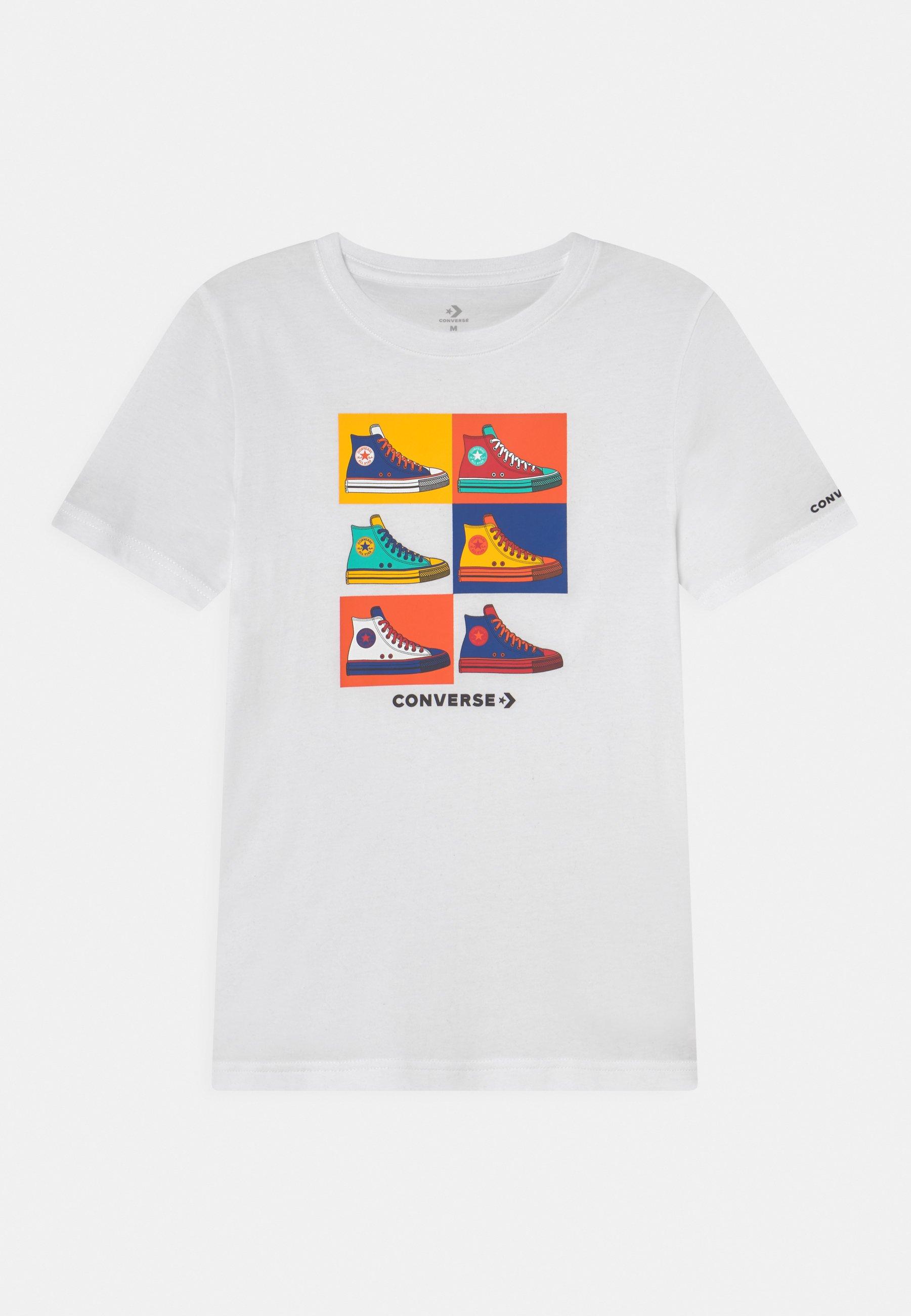Kids POP ART CHUCKS TEE UNISEX - Print T-shirt