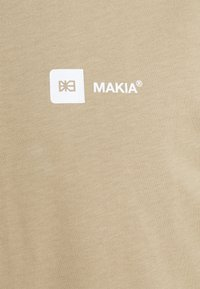 Makia - DYLAN - Print T-shirt - beige - 2