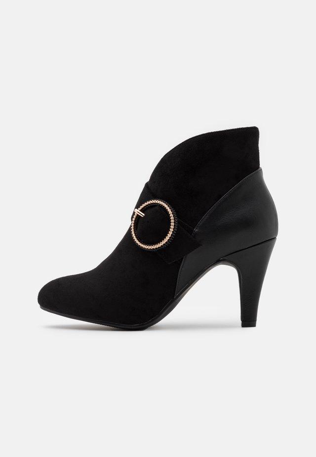 AMY - Boots à talons - black