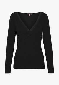 Anna Field - T-shirt à manches longues - black - 3