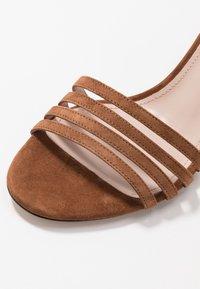 HUGO - APRIL - Sandals - cognac - 2