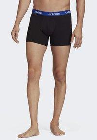 adidas Performance - BRIEFS 3 PAIRS - Panties - black - 2