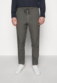 120% Lino - TROUSERS - Pantaloni - anthracite - 0