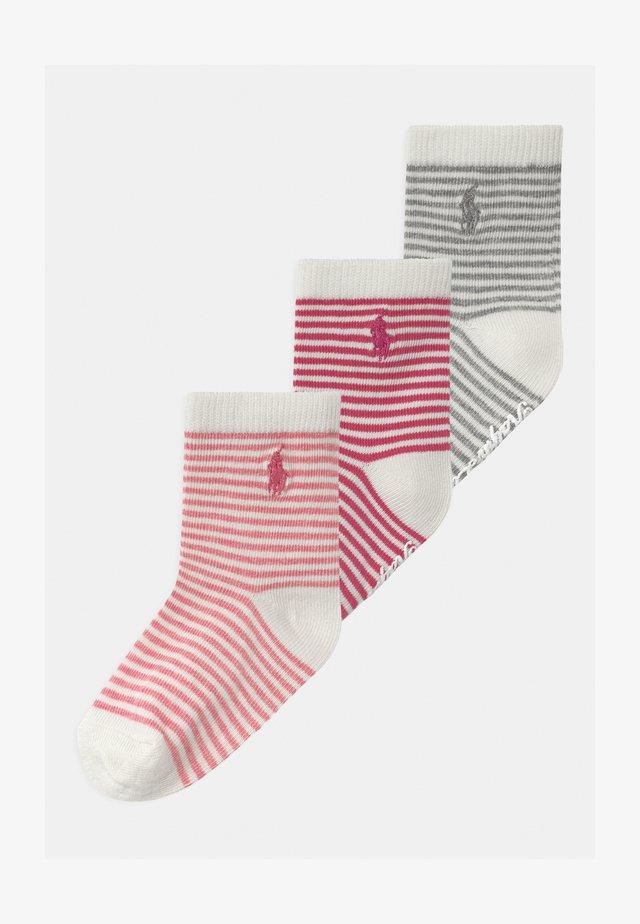 STJAMES 3 PACK - Ponožky - pink