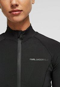 KARL LAGERFELD - Training jacket - black - 4